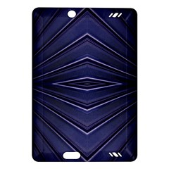 Blue Metal Abstract Alternative Version Amazon Kindle Fire HD (2013) Hardshell Case
