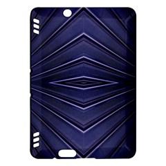Blue Metal Abstract Alternative Version Kindle Fire Hdx Hardshell Case