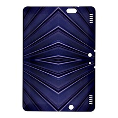 Blue Metal Abstract Alternative Version Kindle Fire HDX 8.9  Hardshell Case