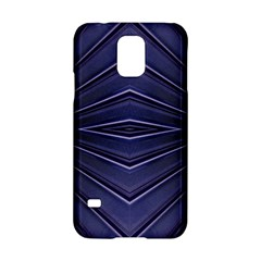 Blue Metal Abstract Alternative Version Samsung Galaxy S5 Hardshell Case