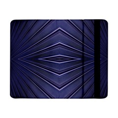 Blue Metal Abstract Alternative Version Samsung Galaxy Tab Pro 8.4  Flip Case