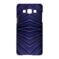 Blue Metal Abstract Alternative Version Samsung Galaxy A5 Hardshell Case