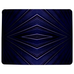 Blue Metal Abstract Alternative Version Jigsaw Puzzle Photo Stand (rectangular)
