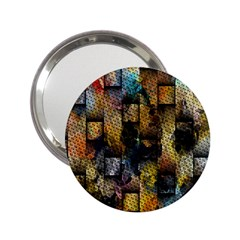 Fabric Weave 2 25  Handbag Mirrors