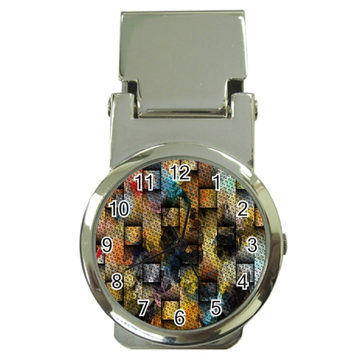 Fabric Weave Money Clip Watches