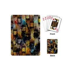 Fabric Weave Playing Cards (mini)