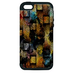 Fabric Weave Apple Iphone 5 Hardshell Case (pc+silicone)