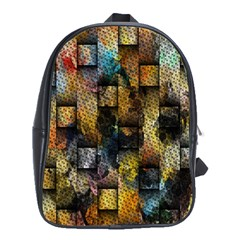 Fabric Weave School Bags (XL)