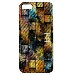 Fabric Weave Apple iPhone 5 Hardshell Case with Stand
