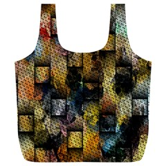 Fabric Weave Full Print Recycle Bags (L)