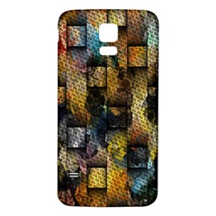 Fabric Weave Samsung Galaxy S5 Back Case (White)