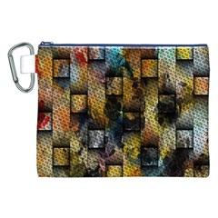 Fabric Weave Canvas Cosmetic Bag (XXL)
