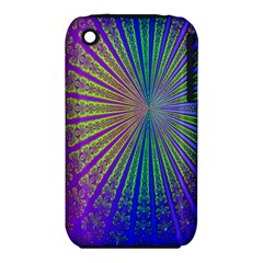 Blue Fractal That Looks Like A Starburst iPhone 3S/3GS