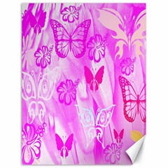 Butterfly Cut Out Pattern Colorful Colors Canvas 18  X 24