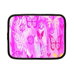 Butterfly Cut Out Pattern Colorful Colors Netbook Case (small)