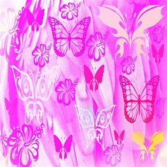 Butterfly Cut Out Pattern Colorful Colors Magic Photo Cubes
