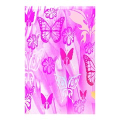 Butterfly Cut Out Pattern Colorful Colors Shower Curtain 48  x 72  (Small)