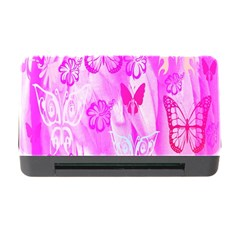 Butterfly Cut Out Pattern Colorful Colors Memory Card Reader With Cf