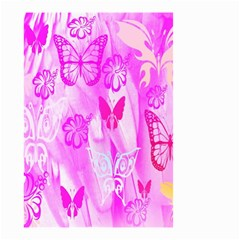 Butterfly Cut Out Pattern Colorful Colors Small Garden Flag (two Sides)