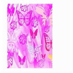 Butterfly Cut Out Pattern Colorful Colors Large Garden Flag (Two Sides)