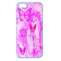 Butterfly Cut Out Pattern Colorful Colors Apple Seamless iPhone 5 Case (Color)