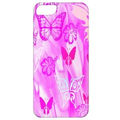 Butterfly Cut Out Pattern Colorful Colors Apple iPhone 5 Classic Hardshell Case