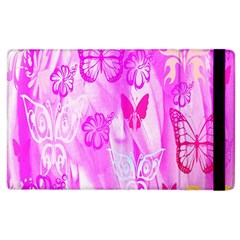 Butterfly Cut Out Pattern Colorful Colors Apple iPad 2 Flip Case