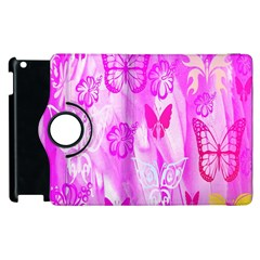 Butterfly Cut Out Pattern Colorful Colors Apple iPad 2 Flip 360 Case