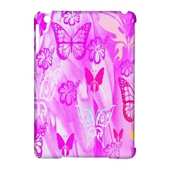 Butterfly Cut Out Pattern Colorful Colors Apple iPad Mini Hardshell Case (Compatible with Smart Cover)