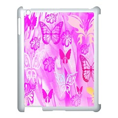 Butterfly Cut Out Pattern Colorful Colors Apple Ipad 3/4 Case (white)