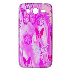 Butterfly Cut Out Pattern Colorful Colors Samsung Galaxy Mega 5.8 I9152 Hardshell Case