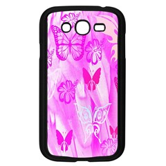 Butterfly Cut Out Pattern Colorful Colors Samsung Galaxy Grand DUOS I9082 Case (Black)