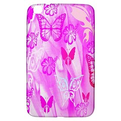 Butterfly Cut Out Pattern Colorful Colors Samsung Galaxy Tab 3 (8 ) T3100 Hardshell Case
