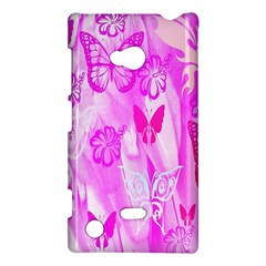 Butterfly Cut Out Pattern Colorful Colors Nokia Lumia 720