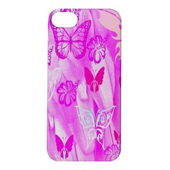 Butterfly Cut Out Pattern Colorful Colors Apple Iphone 5s/ Se Hardshell Case