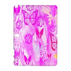 Butterfly Cut Out Pattern Colorful Colors Galaxy Note 1