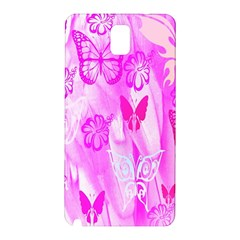 Butterfly Cut Out Pattern Colorful Colors Samsung Galaxy Note 3 N9005 Hardshell Back Case