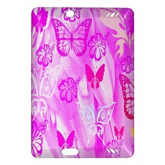 Butterfly Cut Out Pattern Colorful Colors Amazon Kindle Fire HD (2013) Hardshell Case