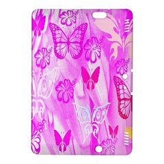 Butterfly Cut Out Pattern Colorful Colors Kindle Fire Hdx 8 9  Hardshell Case