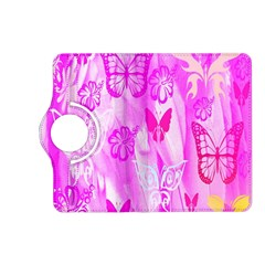 Butterfly Cut Out Pattern Colorful Colors Kindle Fire Hd (2013) Flip 360 Case