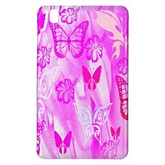 Butterfly Cut Out Pattern Colorful Colors Samsung Galaxy Tab Pro 8.4 Hardshell Case