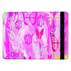 Butterfly Cut Out Pattern Colorful Colors Samsung Galaxy Tab Pro 12.2  Flip Case