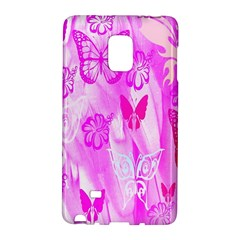 Butterfly Cut Out Pattern Colorful Colors Galaxy Note Edge