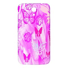 Butterfly Cut Out Pattern Colorful Colors Samsung Galaxy Mega I9200 Hardshell Back Case