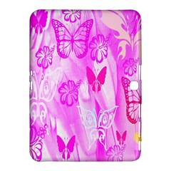 Butterfly Cut Out Pattern Colorful Colors Samsung Galaxy Tab 4 (10.1 ) Hardshell Case