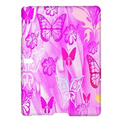 Butterfly Cut Out Pattern Colorful Colors Samsung Galaxy Tab S (10 5 ) Hardshell Case