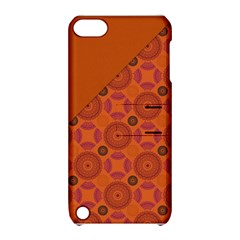Vintage Paper Kraft Pattern Apple iPod Touch 5 Hardshell Case with Stand