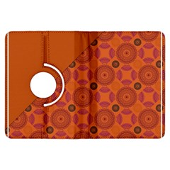 Vintage Paper Kraft Pattern Kindle Fire HDX Flip 360 Case