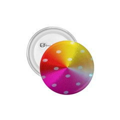 Polka Dots Pattern Colorful Colors 1.75  Buttons