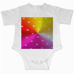 Polka Dots Pattern Colorful Colors Infant Creepers